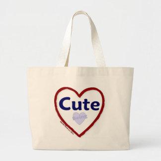 Love Being Cute Jumbo Tote Bag