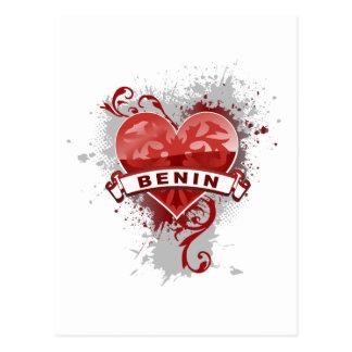 Love Benin Postcard