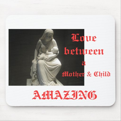 love between a Mother and child Mousepad