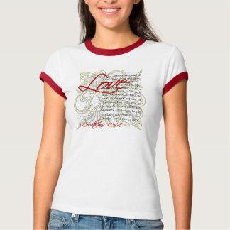 Love Bible Verse T-Shirt Womens Christian T-Shirts