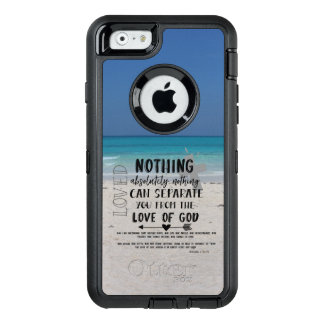 Love Bible Verse with Beach OtterBox iPhone 6/6s Case