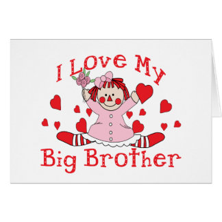 Love Big Brother Greeting Card