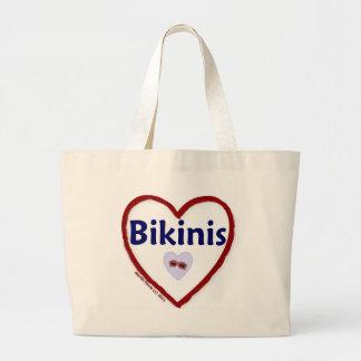 Love Bikinis Jumbo Tote Bag