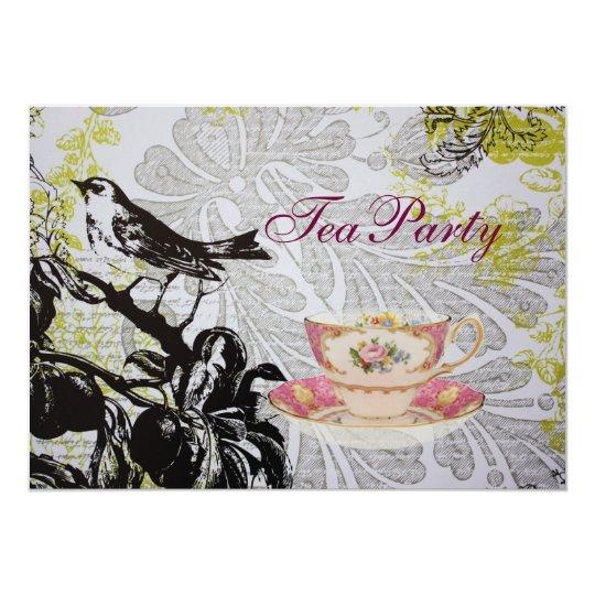 Love Bird Boho Chic bridal shower tea party