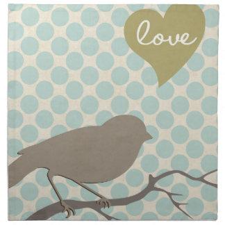 Love Bird Napkins