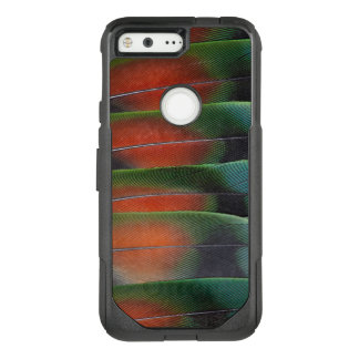 Love Bird Tail Feather Design OtterBox Commuter Google Pixel Case