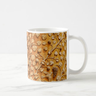 Love Birds and Grape Vines Vintage Decorative Art Basic White Mug