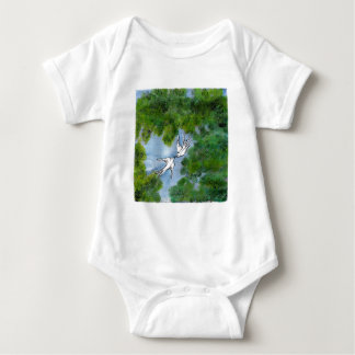 Love birds baby bodysuit