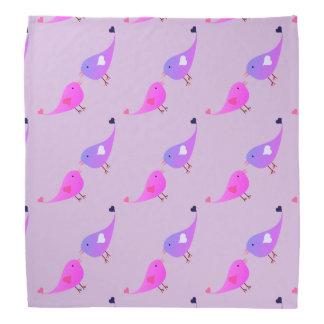 Love birds bandana