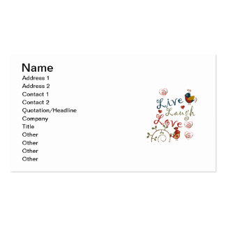 Love Birds Double-Sided Standard Business Cards (Pack Of 100)