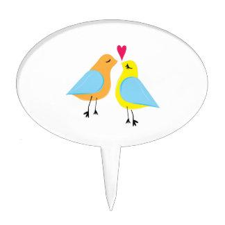 Love Birds Cake Picks