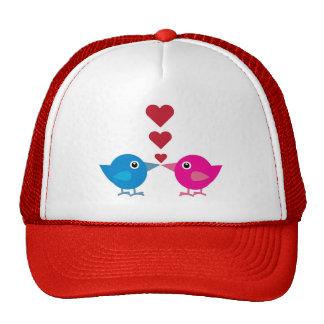 Love birds cap trucker hat