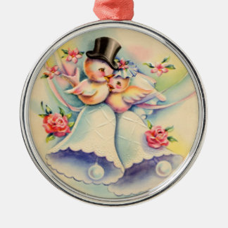 Love Birds Christmas Ornament