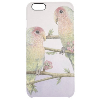 Love Birds Clear iPhone 6 Plus Case
