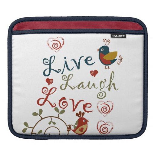 Love Birds iPad Sleeves