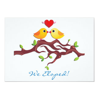 We Eloped Party Invitations with perfect invitations layout