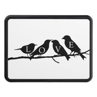 Love Birds Tow Hitch Covers
