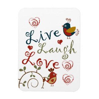 Love Birds Flexible Magnets