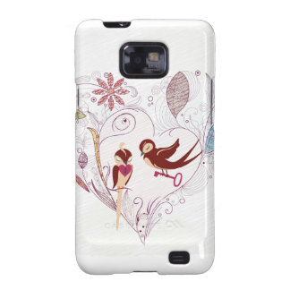 Love Birds Samsung Galaxy S Case