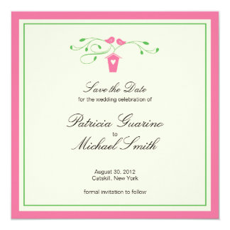 Love Birds | Save The Date Card