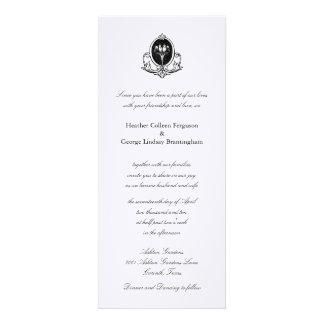 Love Birds simple wedding invitation