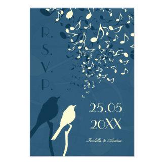 Love Birds Song - RSVP Invitations