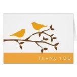 Love Birds Thank You Cards