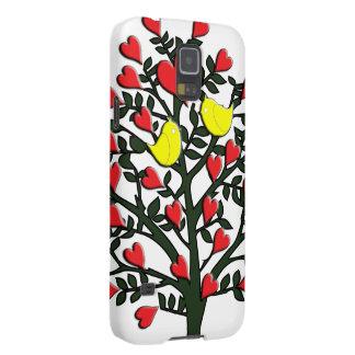 Love Birds Theme Case For Galaxy S5