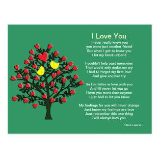 Love Birds Theme Postcard