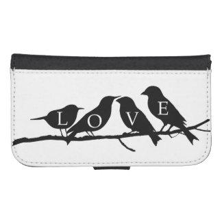Love Birds Phone Wallet Cases