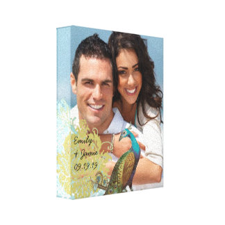 Love Birds Your Photo Wrapped Canvas Gallery Wrap Canvas