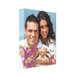 Love Birds Your Photo Wrapped Canvas Canvas Print