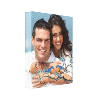 Love Birds Your Photo Wrapped Canvas Canvas Prints