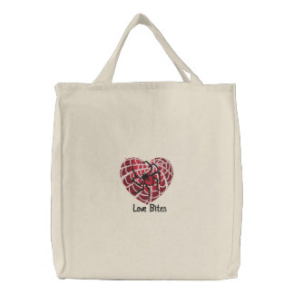 Love Bites Embroidered Bag