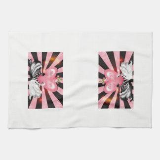 Love Blessings Tea Towel