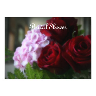 "Love Blooms ""Bridal Shower"" 13 Cm X 18 Cm Invitation Card"