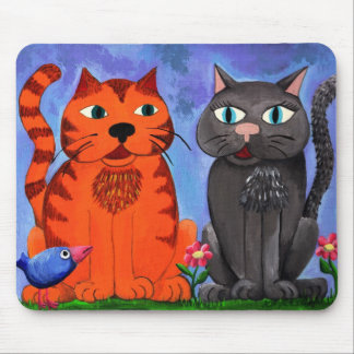 Love Blossoms Mouse Pad