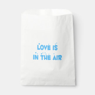 Love Blue Turquoise Wedding, Bridal Shower, Party Favour Bags