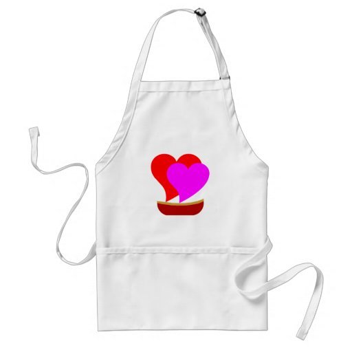 Love Boat Hearts Aprons