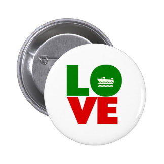 Love Boating 6 Cm Round Badge