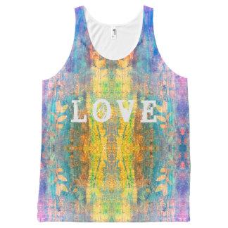love boho design All-Over print tank top