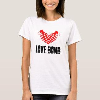Love bomb, grenade heart cool lover shirt. T-Shirt