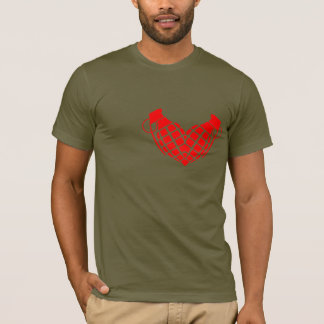 Love bomb, grenade heart T-Shirt
