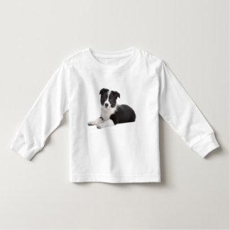 Love Border Collie Puppy Dog Toddler Tee Shirt