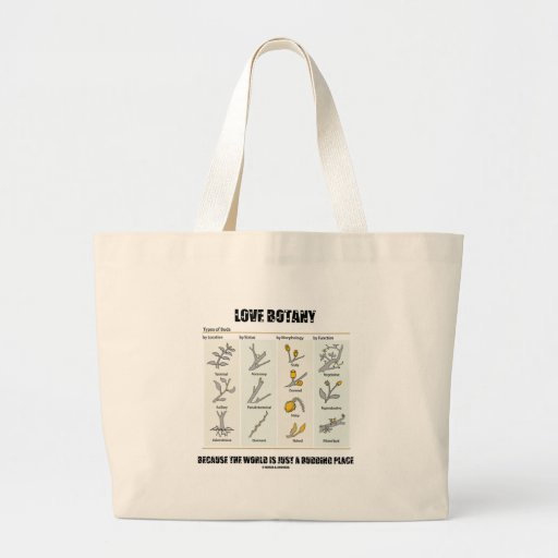 Love Botany Because The World Is Just A Budding Bag