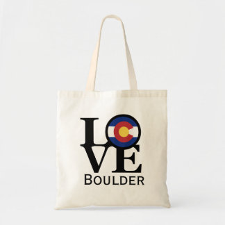 LOVE Boulder Colorado Tote