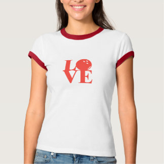 """""""Love"""" Bowling Ringer Tee by League Champ Bowling"""
