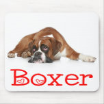 Love Boxer Puppy Dog Mousepad