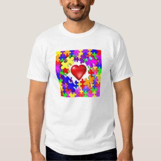 Love Breaks Thru Autism Tee Shirt