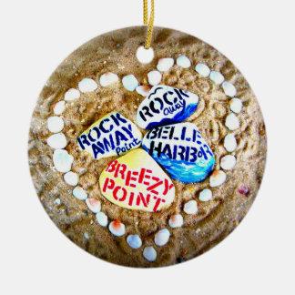 LOVE Breezy Point. Rockaways. Christmas Ornament